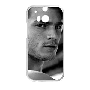 Jamie Dornan HTC One M8 Cell Phone Case White Protect your phone BVS_633554