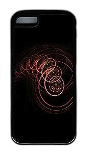 iPhone 5C Case Patterns Twist TPU iPhone 5C Case Cover Black