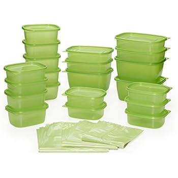 Debbie Meyer Greenbox Greenbag Set (74 Piece Green)  sc 1 st  Amazon.com & Amazon.com - Debbie Meyer Ultra Lite Green Boxes Set 16-Piece ... Aboutintivar.Com