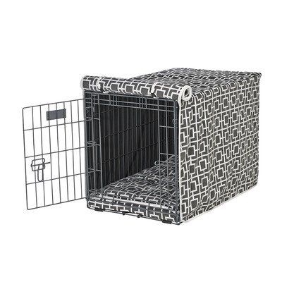 Microlinen Luxury Crate - Bowsers Luxury Pet Crate Cover