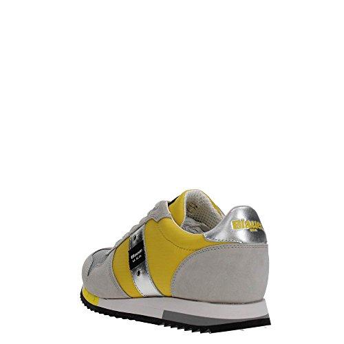 Blauer USA 8SRUNLOW/Top Sneakers Hombre Yellow 44