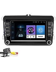 Autoradio 2 Din 7 inch multimedia-speler voor auto Android 8.1 autoradio autoradio navigatie stereo voor wifi GPS voor Skoda V/W Passat B6 Polo Golf
