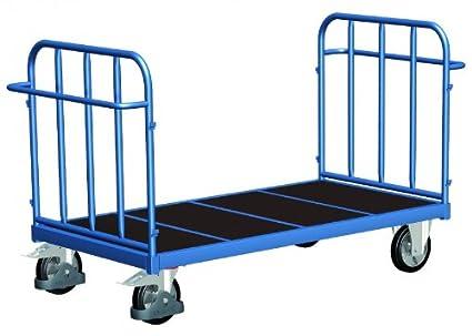 Frente de doble pared carro con senkrechten puntales de carga (kg): 1200 ladefläche