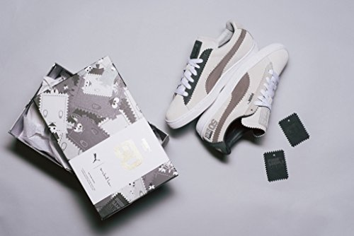 Puma Classic x Michael Lau Sample Suede White/Steel Gray - 366170 01 Bianco/Grigio