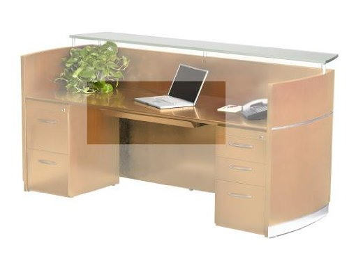 Napoli Series Center Desk Drawer, Golden Cherry Finish, 30w x 18d x 2h - Sold as 1 Each