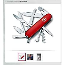 Swiss Army Victorinox 53201 56201 Huntsman Red Multi Function Pocket Knife.
