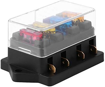 Bloque de fusibles, soporte de bloque de caja de fusibles de ...