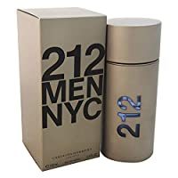Carolina Herrera 212 By Carolina Herrera For Men. Eau De Toilette Spray 3.4-Ounces