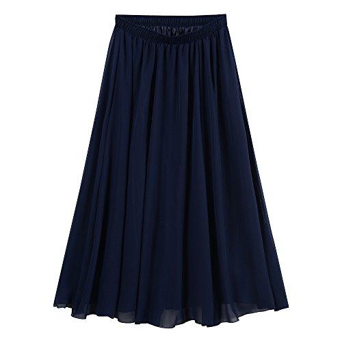 Blue Long Skirt - 9