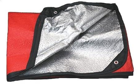 Grabber MPI Space All Weather Blanket//Tarp Orange 5 X 7 Feet Everready First Aid MI18010000
