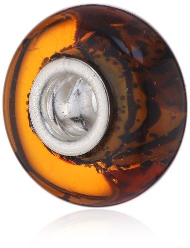Authentic Chamilia RETIRED Brio Murano Glass Bead * Sterling Silver 2110-1106