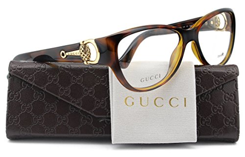 GUCCI GG3714 Eyeglasses Havana (0Q18) GG 3714 Q18 FR 54mm - Gucci Glasses Authentic