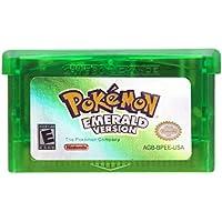 Jhana Pokemon Emerald Version 32 Bit Game For Nintendo GBA Console US Version (Reproduction)