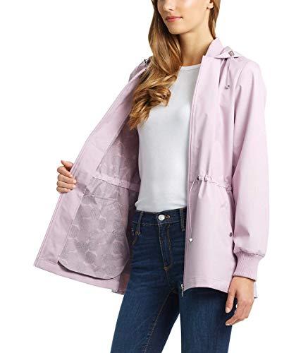 Bernardo Ladies' Jacket with Back Ruffle Hem (Amethyst, X-Large) (For Bernardo Women Jackets)