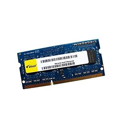 2GB RAM PC portátil Elixir m2s2g64cb88g5N-cg SODIMM DDR3PC3–10600S 1333mhz 1Rx8