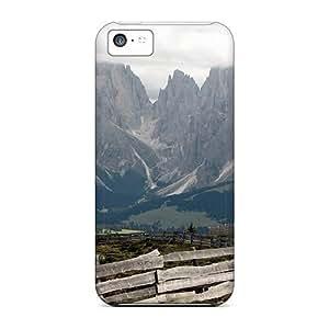 MMZ DIY PHONE CASEExcellent Design Spectacular Mountains Phone Case For iphone 5/5s Premium Tpu Case