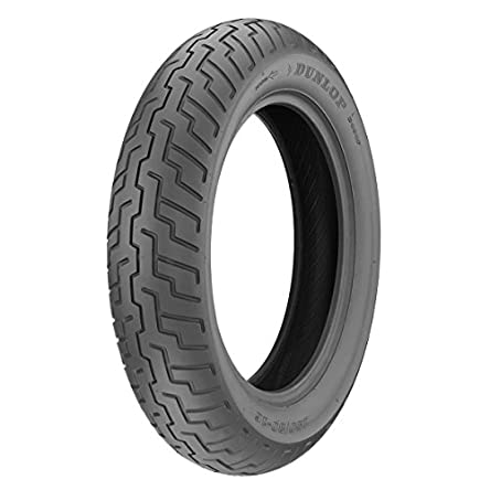 Dunlop D404 Front Motorcycle Tire 100/90-19 (57H) Black...