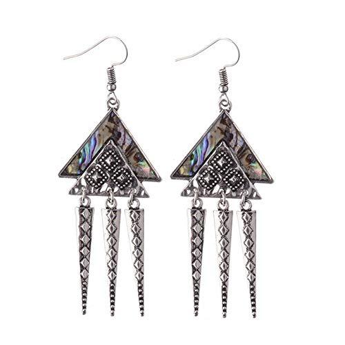 Geometric Spike (UltraSunday Fashion Triangle Geometric Spike Taper Drop/Dangle Ear Hook Earrings Jewelry)