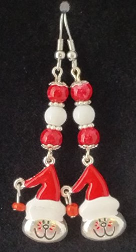 Klaw Ring - Santa Kitty Earrings