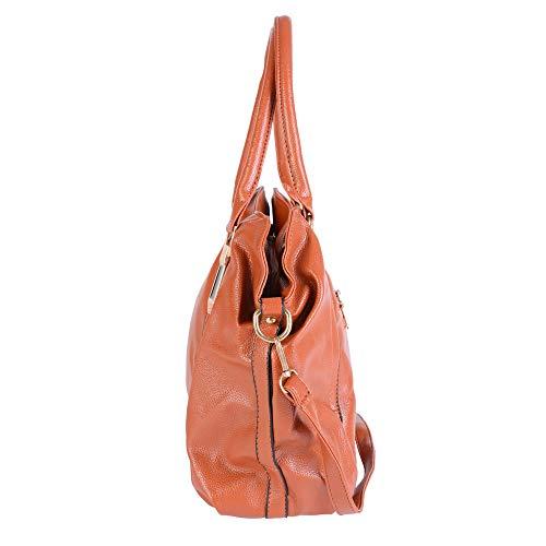 Dihope Bandoulière Sacoche Épaule Sac Femme Sac Portés Brun Main à Shopping qw6qS4