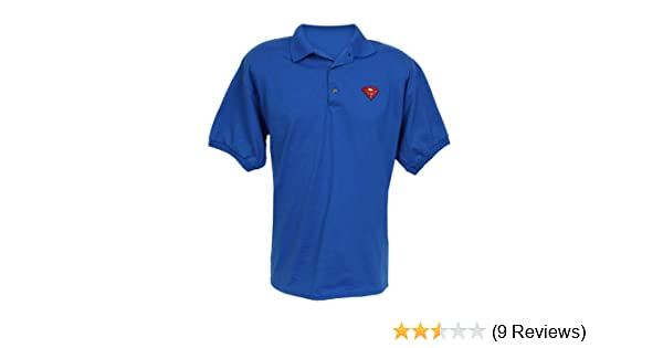 2c998a6d Amazon.com: Warner Bros. Men's Superman Embroidered Logo Royal Blue ...