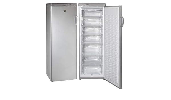Congelador Vertical Jocel 320L JCV-320LS Clase A+, Look Inox ...