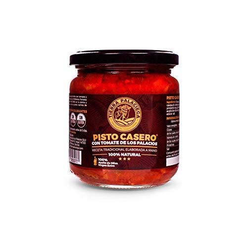 Huisgemaakte Ratatouille TIERRA PALACIEGA Pot 340 g met Tomaat uit Los Palacios en Extra Vergine Olijfolie Veganistisch…