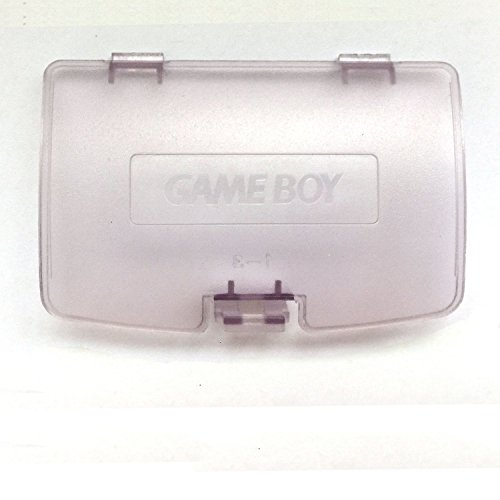 Gameboy Color GBC Game Boy Colour Replacement Battery Cover -Clear Purple