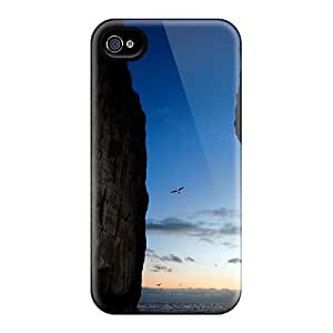 High Grade Fly Angel Flexible Tpu Case For Iphone 4/4s - Escape by mcsharks
