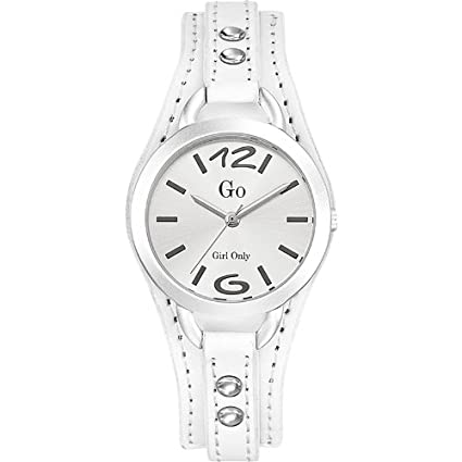 GO, Girl Only Analogue Silver Dial Women's Watch - 698350