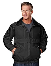 TRM Men's Highland Windproof/Water Resistant Shell Jacket (11 Colors, S-6XLT)