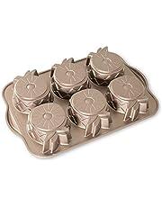 Nordic Ware Bundt Bakeware Cast Aluminum Nonstick Mini Pineapple Upside Down Cake Pan