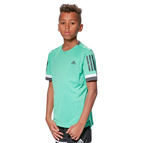 Adidas B Club 3Str Tee Herren Sportschuhe–Tennis, Kind, Kinder grün