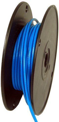 - George L's 155 Guage Instrument Cable Roll (Blue, 50 Foot)