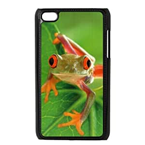 HXYHTY Phone Case Frog,Customized Case For Ipod Touch 4
