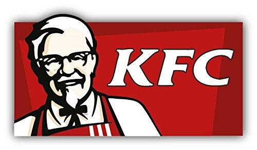 KFC Kentucky Fried Chicken 6 Stickers