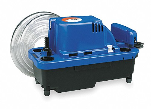 Little Giant 554531 VCMX-20ULS 230-volt Condensate Pump with 6-Feet Power Cord, 1-Pack ()