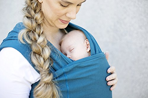 Baby Wrap Carrier by Baby Sense - Baby Sling, Nursing Cover, Baby Slings, Soft Lightweight Stretchy Comfortable Easy Breathable Wraps for Infants & Newborns | Baby Shower Gift (Baby Triple Woven Blanket)
