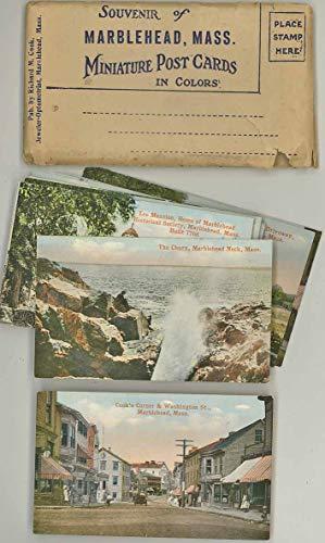 Marblehead Massachusetts - Miniature Souvenir Color Postcard Packet - 14 cards