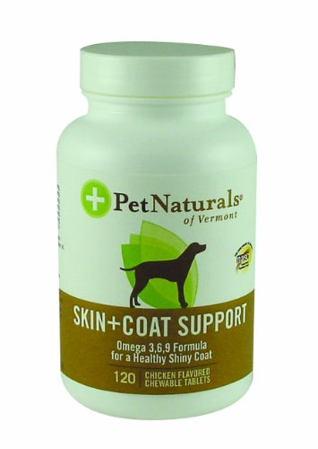 Skin and Coat Support for Dogs - 120 - Tablet