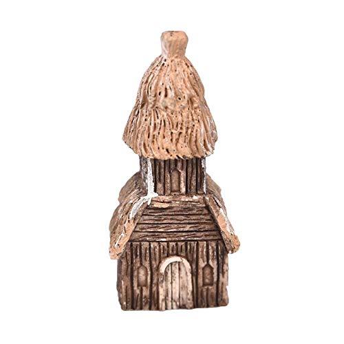 AFCN - - Mini casa de Madera de Resina Miniatura Figuras ...