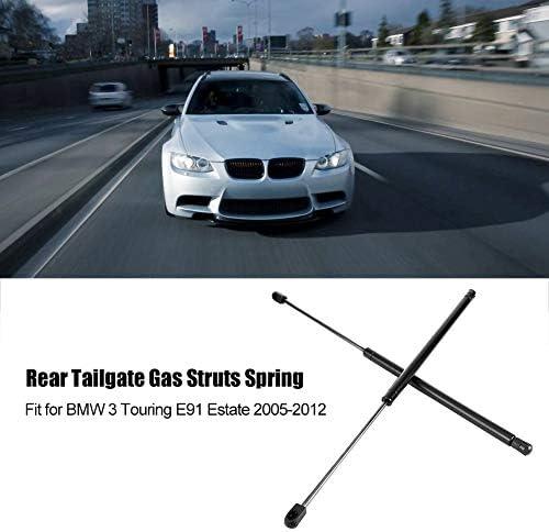Amortiguador de gas 1 par de resortes traseros del maletero trasero Soporte de puntales de gas Resorte para BMW 3 Touring E91 Estate 2005-2012.