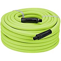 Legacy HFZ1250YW4 Flexzilla 1/2 x 50 Lightweight Heavy Duty Hybrid Air Hose (1/2 MNPT ends) by Legacy Manufacturing