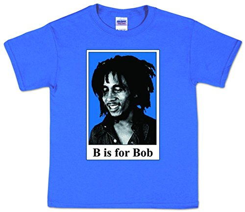 Toddler: Bob Marley - B is for Bob Baby T-Shirt Size 3T ()