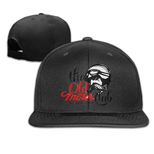 49ad1e8f Hnmtown Mark Flat Visor Baseball Cap, Fashion Snapback Hat Pink