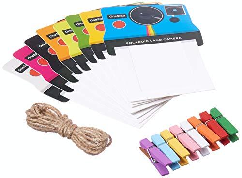 - Polaroid Colorful Vintage Photo Frames for 2x3 Zink Paper (Mint, Snap, Zip, Z2300)
