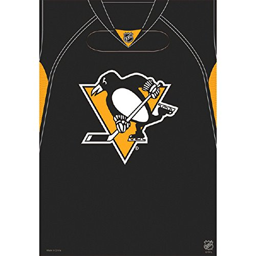 Amscan Sports & Tailgating NHL Pittsburgh Penguins Loot Bag Childrens Party Favor Sets , 48 Pieces -