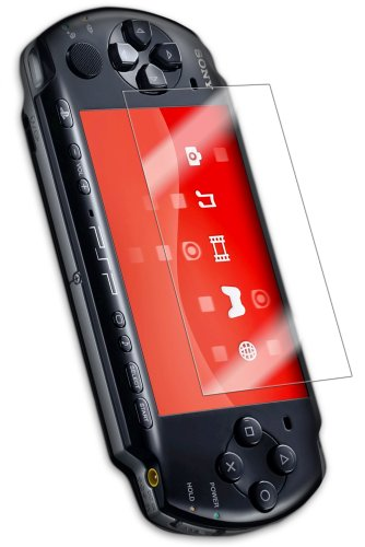 Sony PSP 2000 Slim Screen Protector, IQ Shield® LiQuidSkin Full Coverage Screen Protector for Sony PSP 2000 Slim HD Clear Anti-Bubble Film - with Lifetime Warranty (Cover Crystal Psp Protective)