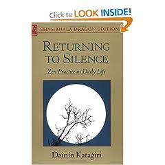 Returning to Silence (Shambhala Dragon Editions)