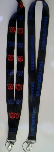 Black TRANSFORMERS Badge Holder LANYARD product image
